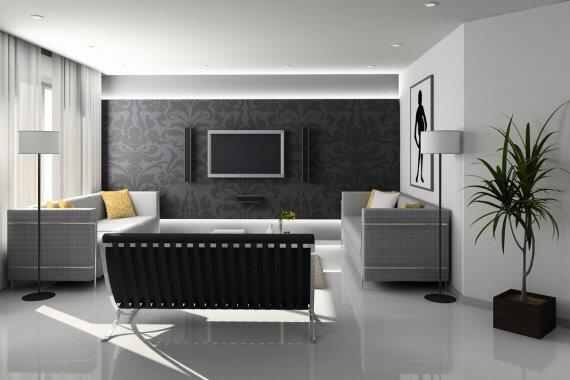 Ciepła barwa światła w mieszkaniu