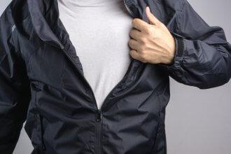 kurtka przeciwdeszczowa dla faceta