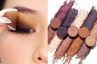 Paleta kosmetyków do makijarzu