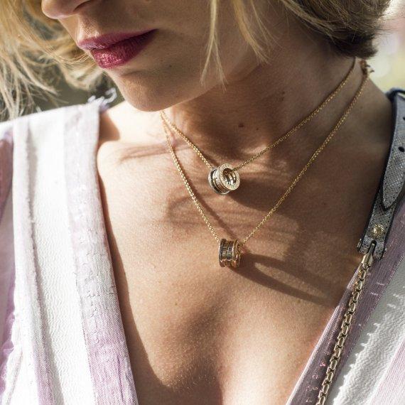 biżuteria naszyjnik złoto